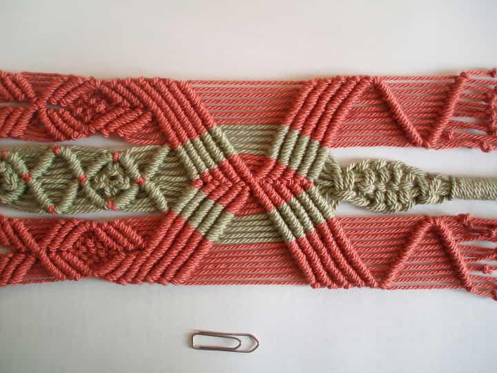 tapiz de Macrame