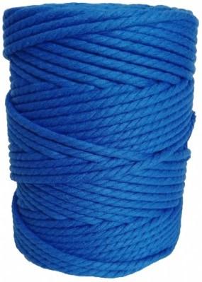 hilo de macrame azul