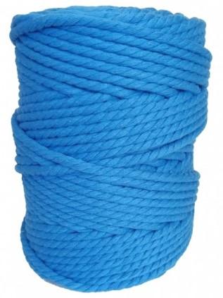 hilo macrame azul turquesa