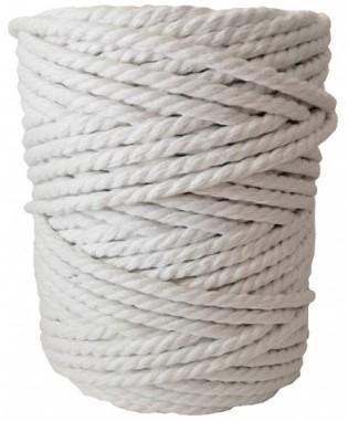 hilo de macrame blanco