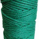 hilo macrame verde turquesa