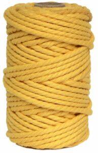 hilo macrame amarillo