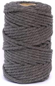 hilo macrame gris oscuro