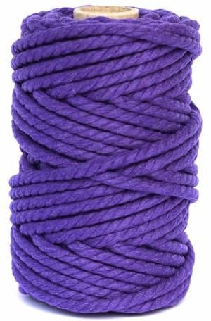 hilo macrame lila oscuro