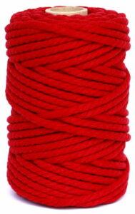 hilo macrame rojo