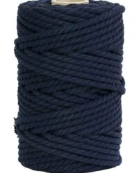 hilo macrame azul marino