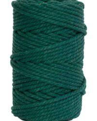 hilo macrame verde oscuro