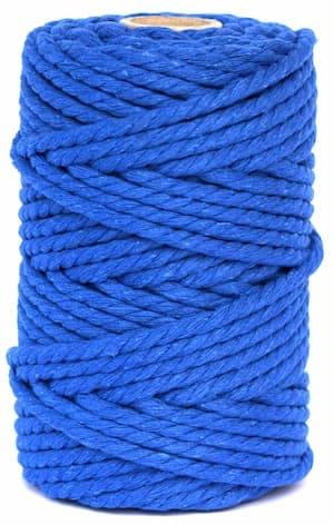 hilo macrame azul azulina