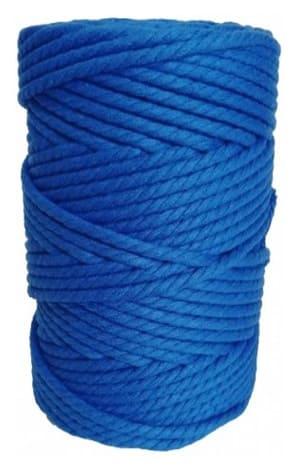 hilo macrame azul