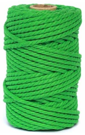 hilo macrame verde
