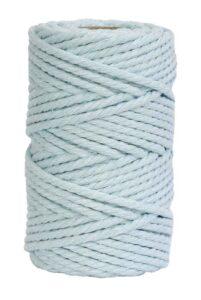 hilo de macrame azul celeste
