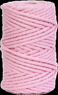 hilo de macrame rosa